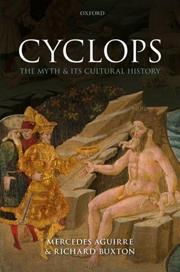 Book cver: Cyclops: The Myth and its Cultural History